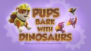 PAW Patrol, Vol. 2 - Pups Bark with Dinosaurs image