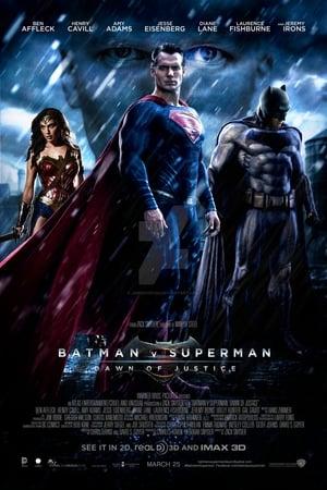 Batman v Superman: Dawn of Justice poster 1