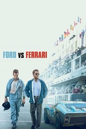 Ford v Ferrari posters