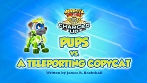 PAW Patrol, Pups Bark with Dinosaurs - Charged Up: Pups vs. a Teleporting Copy Cat image