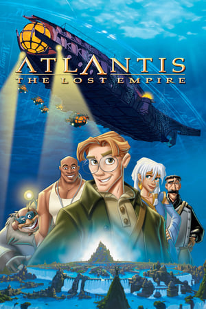 Atlantis: The Lost Empire movie posters
