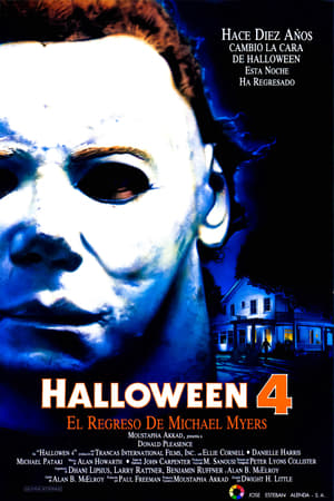 Halloween 4: The Return of Michael Myers poster 2