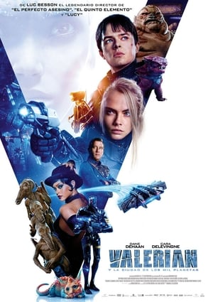 Valerian and the City of a Thousand Planets poster 2