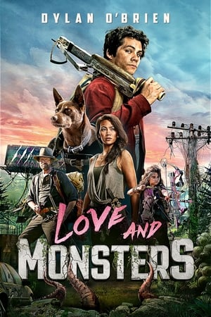 Love and Monsters movie posters