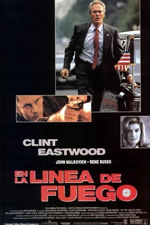 In the Line of Fire posters