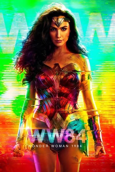 Wonder Woman 1984 movie poster