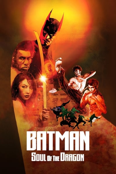 Batman: Soul of the Dragon movie poster