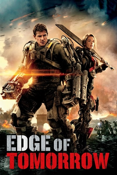 Live Die Repeat: Edge of Tomorrow movie poster